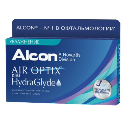 Air Optix plus HydraGlyde 3 бл