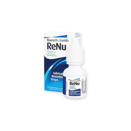 ReNu MultiPlus Lubricating & Rewetting Drops, 8 мл