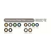 Увеличивающие  2-х тоновые Цветные линзы P-Con в Размере  14.50mm