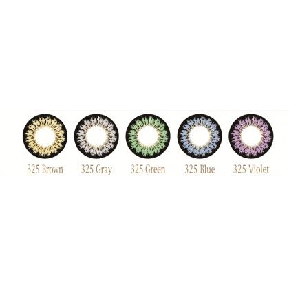 Увеличивающие  3-х тоновые Цветные линзы P-Con в Размере  15.00mm
