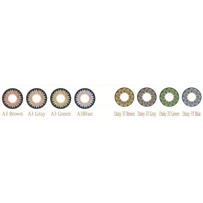 Увеличивающие  3-х тоновые Цветные линзы P-Con в Размере  14.80mm