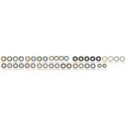 Увеличивающие  2-х тоновые Цветные линзы P-Con в Размере  14.80mm