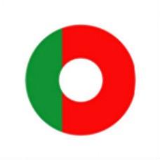 Карнавальные линзы P-Con Portugal  14.00mm