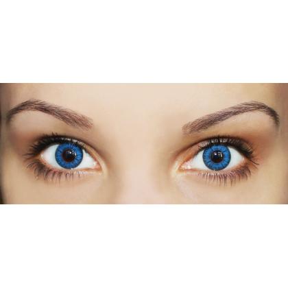 Цветные линзы Magic eye 2 tone Aqua