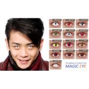 Карнавальные линзы Magic eye Crazy